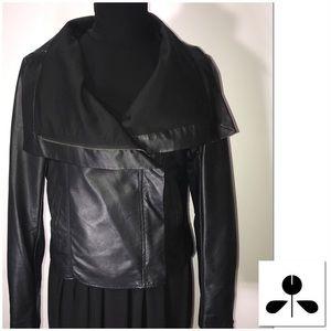 Mossimo faux leather jacket, size medium